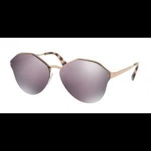 Prada catwalk designer sunglasses  case included